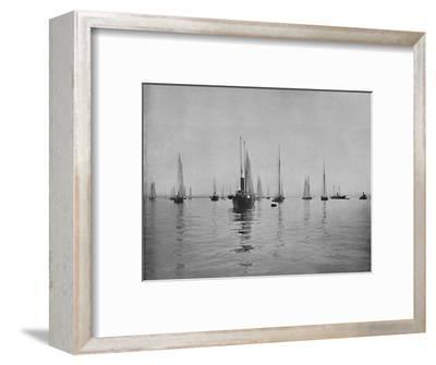 'New York Bay', 19th century-Unknown-Framed Photographic Print