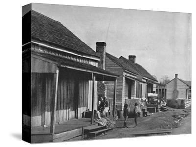 Quarters at Thomasville in Georgia', 19th century-Unknown-Stretched Canvas Print