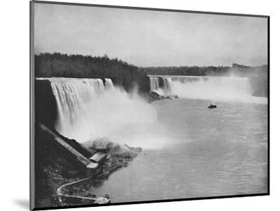 'The General Outline of Niagara', 19th century-Unknown-Mounted Photographic Print