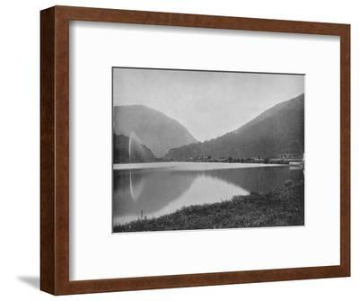 'Crawford Notch, in the White Mountains', 19th century-Unknown-Framed Photographic Print
