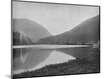 'Crawford Notch, in the White Mountains', 19th century-Unknown-Mounted Photographic Print