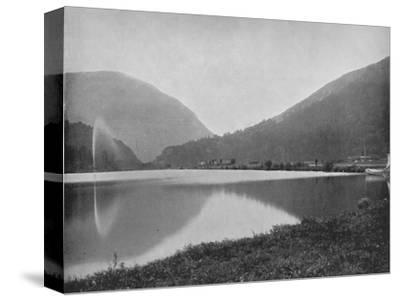 'Crawford Notch, in the White Mountains', 19th century-Unknown-Stretched Canvas Print