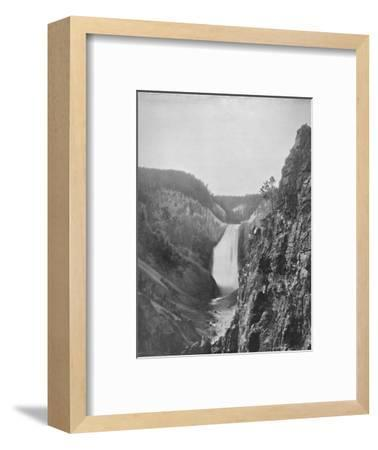 'The Great Falls of the Yellowstone', 19th century-Unknown-Framed Photographic Print
