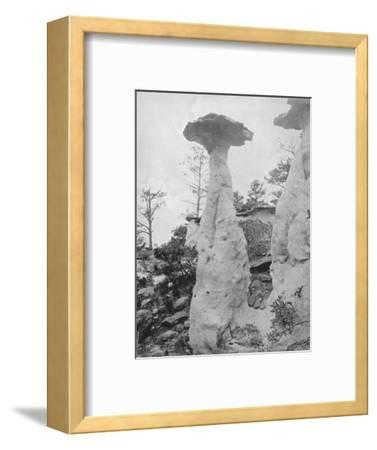 'The Lone Rocks', 19th century-Unknown-Framed Photographic Print
