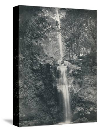 'The Emu Vale Waterfall', 19th century-Unknown-Stretched Canvas Print