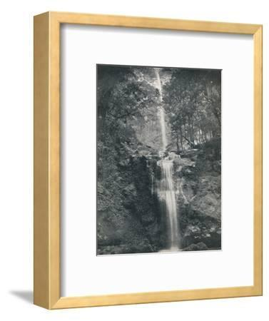'The Emu Vale Waterfall', 19th century-Unknown-Framed Photographic Print