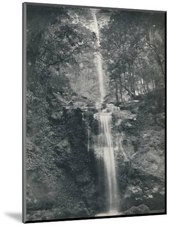 'The Emu Vale Waterfall', 19th century-Unknown-Mounted Photographic Print