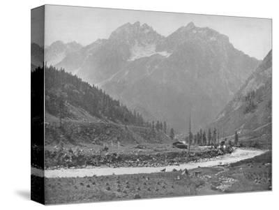 'The Sind Valley', 19th century-Unknown-Stretched Canvas Print