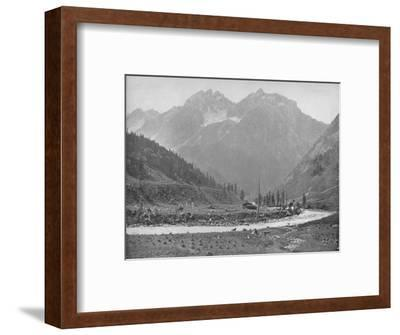 'The Sind Valley', 19th century-Unknown-Framed Photographic Print