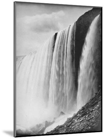 'The Horseshoe Fall', 19th century-Unknown-Mounted Photographic Print