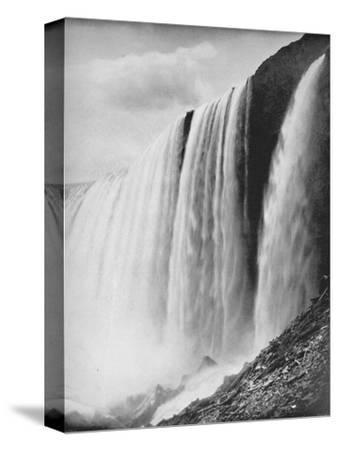 'The Horseshoe Fall', 19th century-Unknown-Stretched Canvas Print