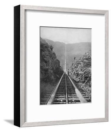 'The Catskill Railway', 19th century-Unknown-Framed Photographic Print
