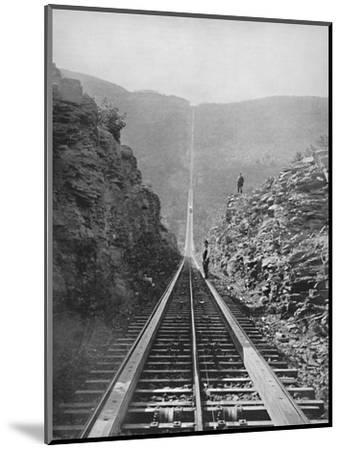 'The Catskill Railway', 19th century-Unknown-Mounted Photographic Print