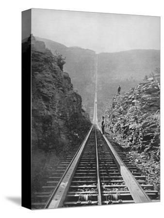 'The Catskill Railway', 19th century-Unknown-Stretched Canvas Print