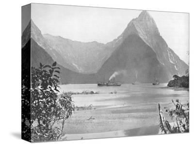 'Mitre Peak', 19th century-Unknown-Stretched Canvas Print