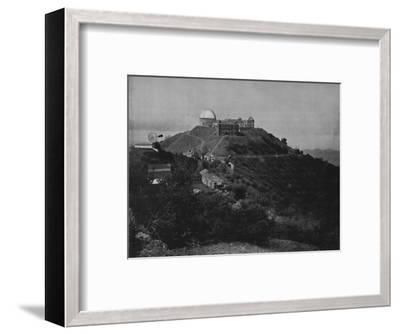 'The Lick Observatory', 19th century-Unknown-Framed Photographic Print