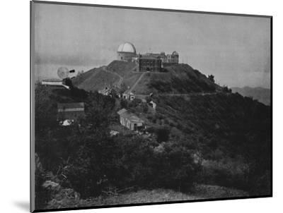 'The Lick Observatory', 19th century-Unknown-Mounted Photographic Print