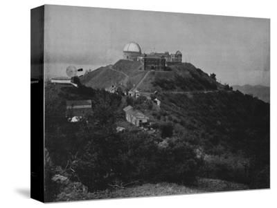 'The Lick Observatory', 19th century-Unknown-Stretched Canvas Print