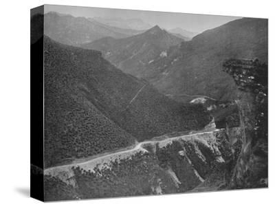 'The Skipper's Road', 19th century-Unknown-Stretched Canvas Print