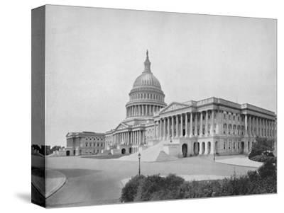'The Capitol, Washington', 19th century-Unknown-Stretched Canvas Print