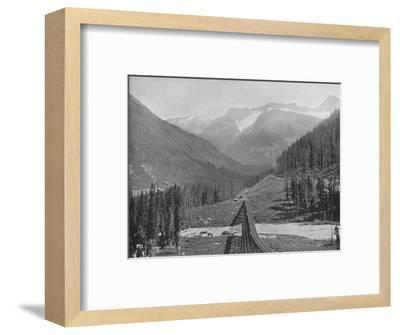 'The Loop Valley', 19th century-Unknown-Framed Photographic Print