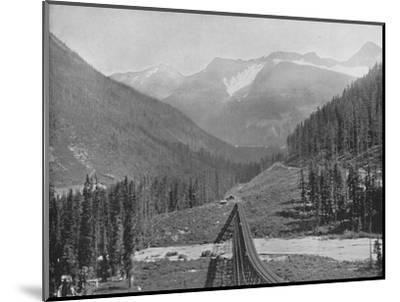 'The Loop Valley', 19th century-Unknown-Mounted Photographic Print