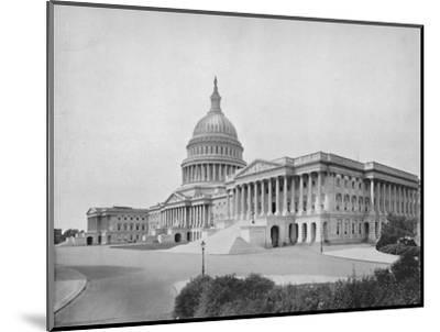 'The Capitol, Washington', 19th century-Unknown-Mounted Photographic Print