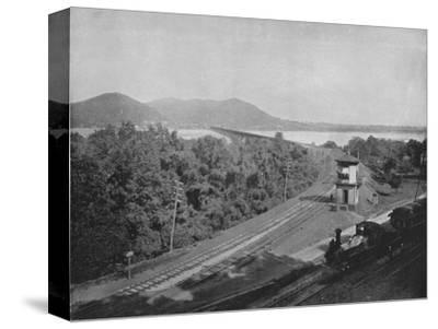'The Susquehanna River', 19th century-Unknown-Stretched Canvas Print