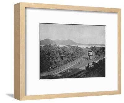 'The Susquehanna River', 19th century-Unknown-Framed Photographic Print