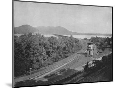'The Susquehanna River', 19th century-Unknown-Mounted Photographic Print