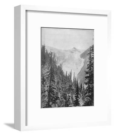 'The Illicilliwaet Glacier', 19th century-Unknown-Framed Photographic Print