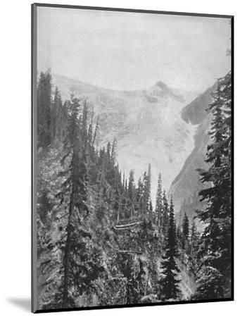 'The Illicilliwaet Glacier', 19th century-Unknown-Mounted Photographic Print