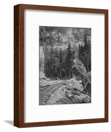 'Signal Rock in the Black Hills', 19th century-Unknown-Framed Photographic Print