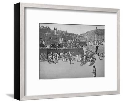 'The Zuni Indians', 19th century-Unknown-Framed Photographic Print