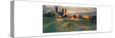 'Lincoln Cathedral', 1912-Unknown-Stretched Canvas Print
