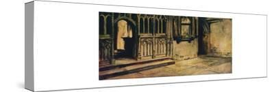'The Scene of Saint Thomas', 1912-Unknown-Stretched Canvas Print