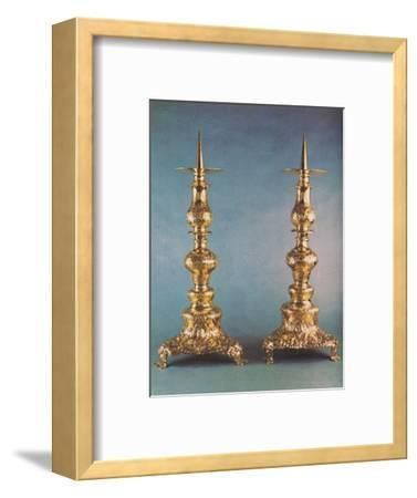 'Candlesticks, c.1662', 1953-Unknown-Framed Photographic Print