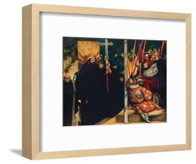 'The Reception of Saint Augustine by Ethelbert', 1912-Unknown-Framed Giclee Print