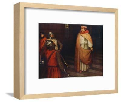 'The Martyrdom of Saint Thomas', 1912-Unknown-Framed Giclee Print