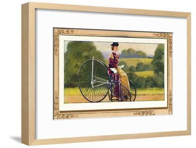 'Singer Tricycle', 1939-Unknown-Framed Giclee Print