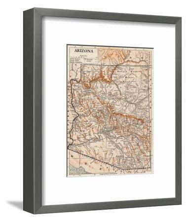 'Arizona'-Unknown-Framed Giclee Print