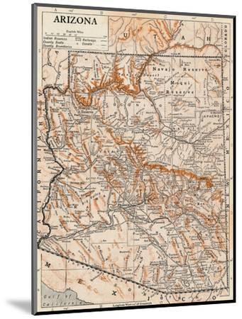 'Arizona'-Unknown-Mounted Giclee Print