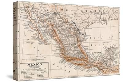 'Mexico'-Unknown-Stretched Canvas Print