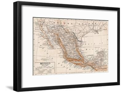 'Mexico'-Unknown-Framed Giclee Print