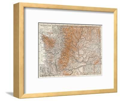 'Washington'-Unknown-Framed Giclee Print