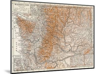 'Washington'-Unknown-Mounted Giclee Print
