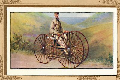 'Sawyer's Velocipede', 1939-Unknown-Framed Giclee Print