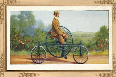'Coventry Rotary Tricycle', 1939-Unknown-Framed Giclee Print