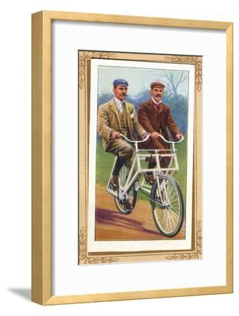 'Companion Safety Bicycle', 1939-Unknown-Framed Giclee Print