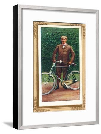 'Bicycle of the Late '90s', 1939-Unknown-Framed Giclee Print